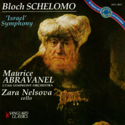 Bloch Schelomo Abravanel Album Cover