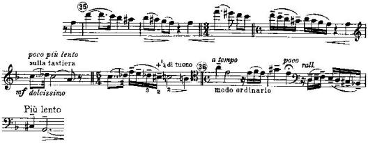 Bloch Schelomo Section of Score