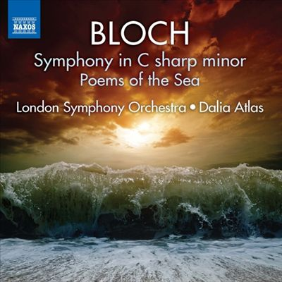 Bloch Symphony in C-Sharp Minor Album COVER