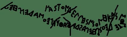 Greek Alphabetic Inscription