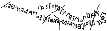 Greek Alphabetic Inscription