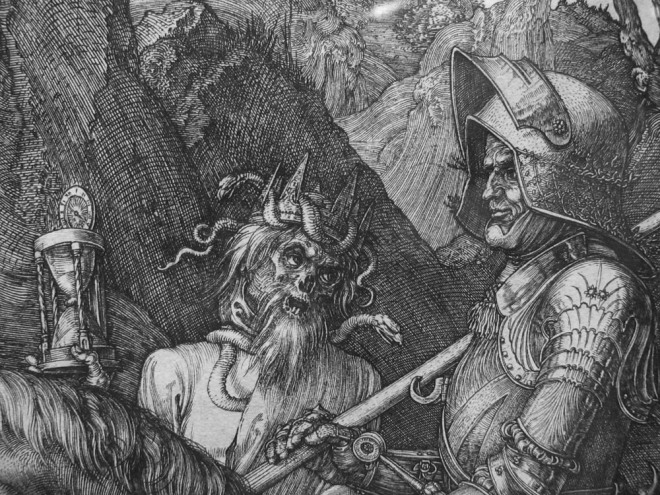 Durer Death and the Rider