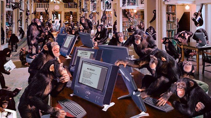 Monkeys-typing-Shakespeare