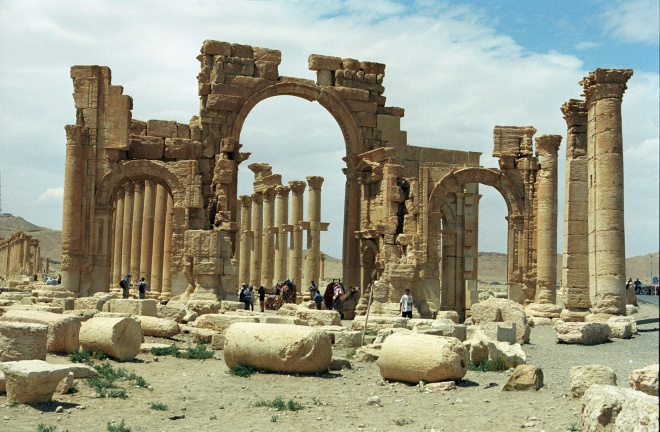 Ruins without Jihadis
