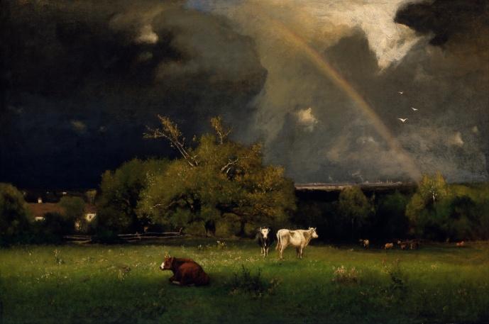 Inness George (825 – 1894) Rainbow (1877 - 78)