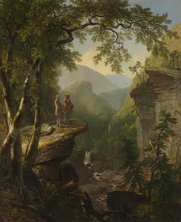 Asher B. Durand (1796-1886)Kindred Spirits 1849 Oil on canvas