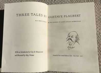 Flaubert Three Tales