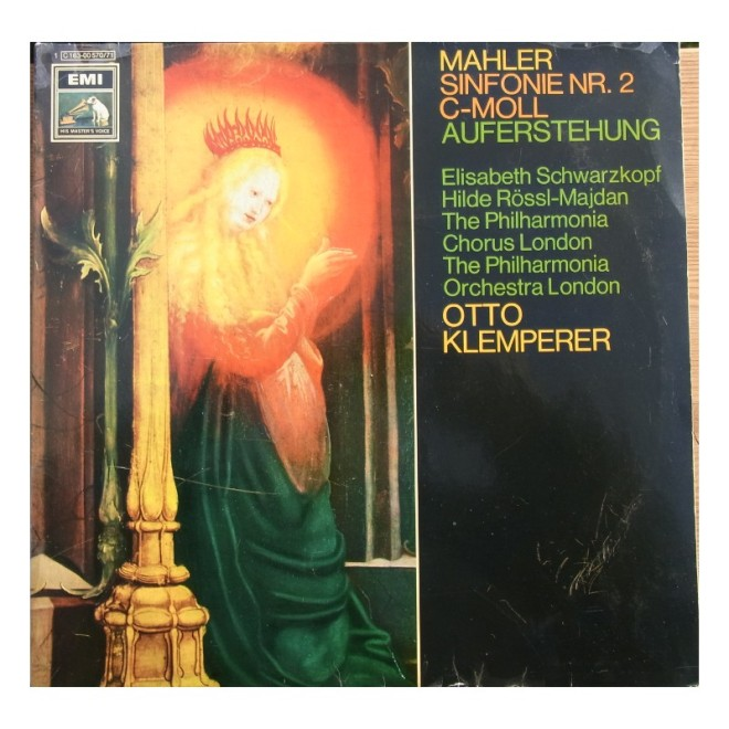 Mahler-Klemperer S2 Album Cover