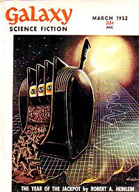 Heinlein Year of the Jackpot GALAXY COVER