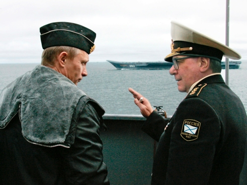 XYZ Russian Naval Officer with Putin 03