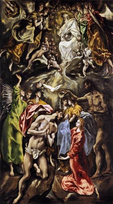 Greco Baptism of Christ