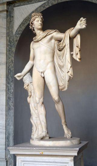 Greek Statuary 01 Apollo of the Belvedere