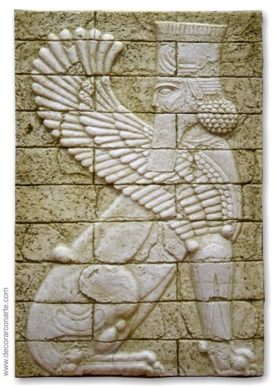 Sumerian 04 (Winged Animal-King)