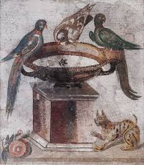 Gods 06 Birds in Roman Painting 01