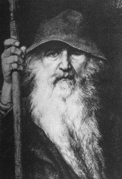 Gods 16 Odin as Old Gray Man