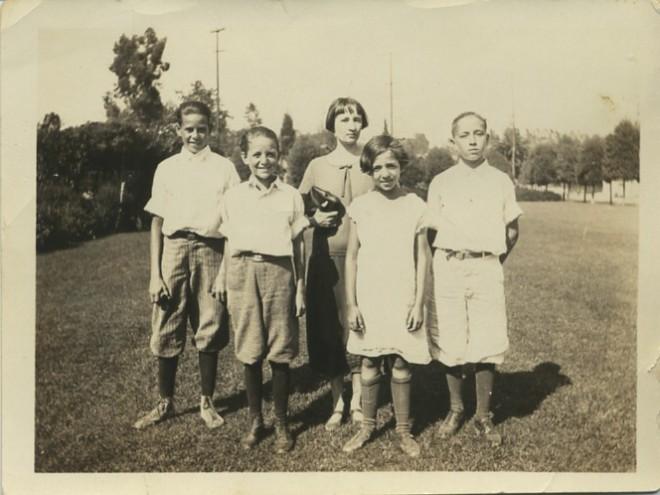 Bertonneau 17 Nellie Gayaut Bertonneau & Family