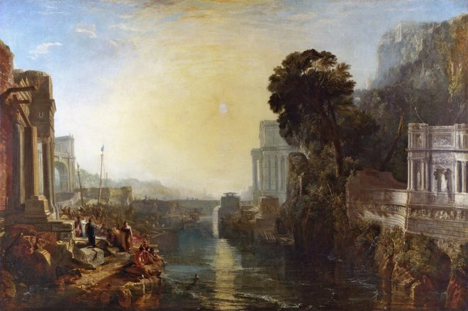Dido building Carthage by Turner