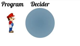Program and decider