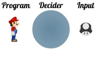 Program decider input
