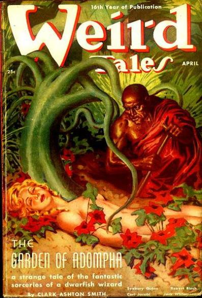 Baudelaire 08 Weird Tales April 1938 Smith Cover