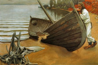 Sibelius 06 Building the Boat by Gallen-Kallela