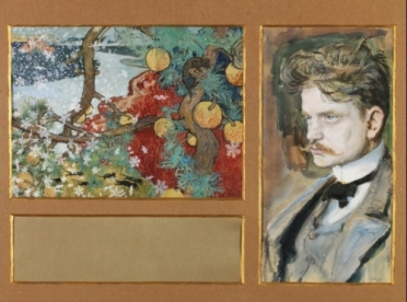 Sibelius 11 Gallen-Kallela Sibelius Portrait (1894)