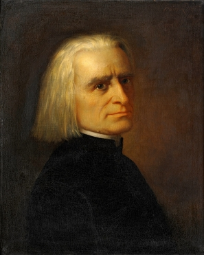 Sibelius 14 Liszt by Carl Ehrenberg (1868)