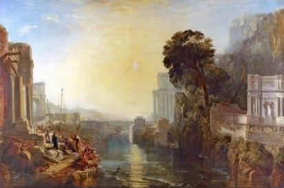 Identity 03 William Turner (1775 - 1851) Dido Building Carthage (1815)