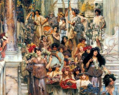 Identity 08 Lawrence Alma-Tadema (1836 - 1912) Cerealia (1894)