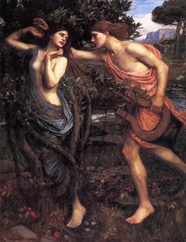 daphne (1908) by waterhouse (1849 - 1917)