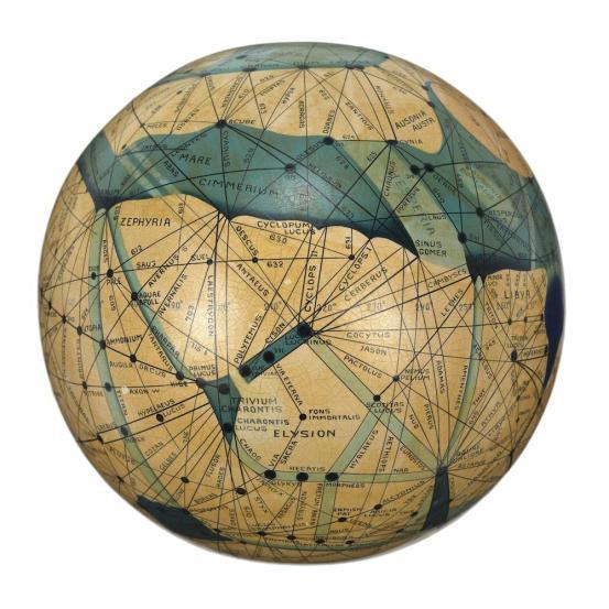 Lowell's Mars (Globe)
