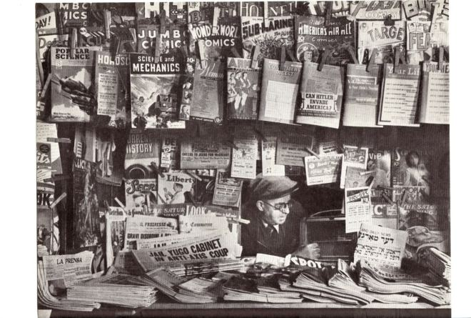 News Stand 1940