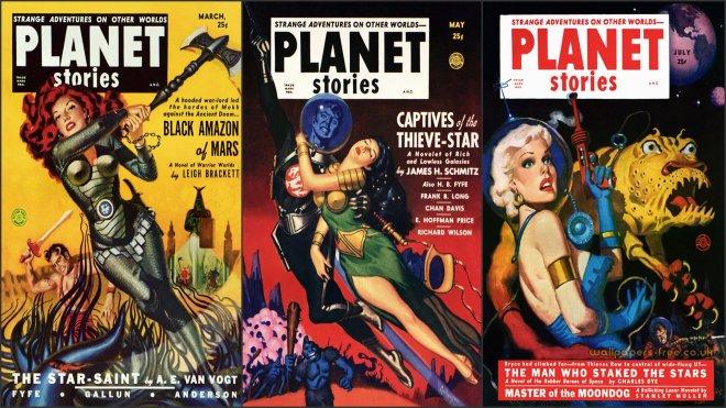 Planet Stories Triple