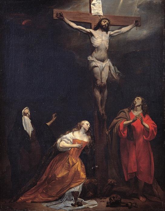 Gabriel Metsu (1588 - 1629) Crucifixion (1660s)