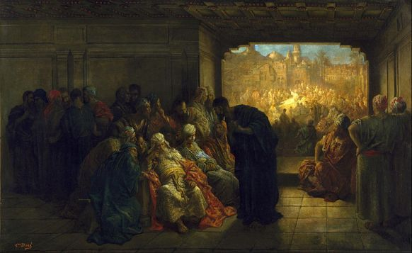 Gustave Doré (1832 - 1883) House of Caiaphas (1875)