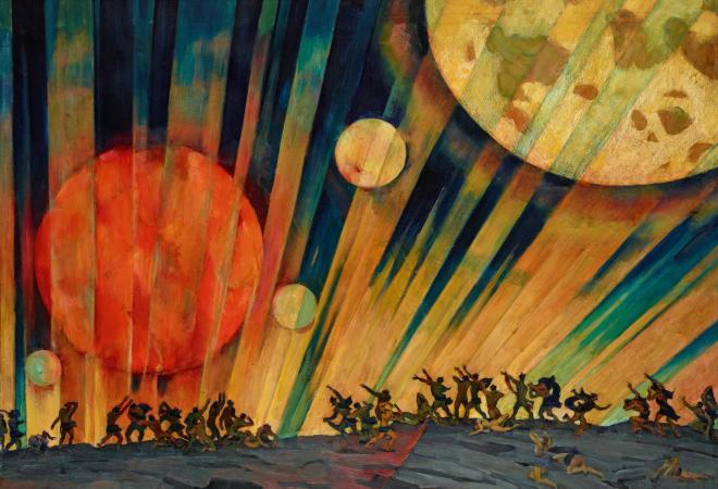 New Planet (1921) Konstantin Yuon