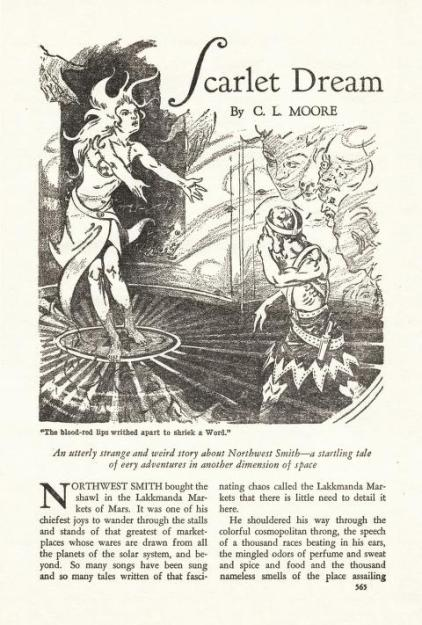 Scarlet Dream Weird Tales v23 n05 1934