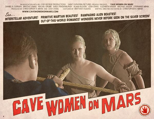 Cave Women Lobby Card
