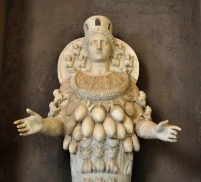 Endoios (6th Cent. BC) - Artemis of Ephesus