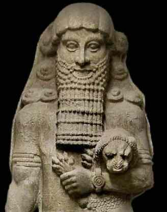 Gilgamesh from the Palace of Sargon II (ca. 700 BC)