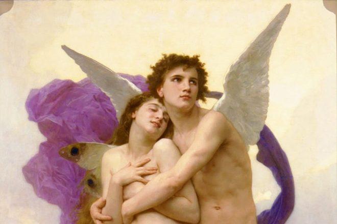 Bouguereau, Adolphe-William (1825 - 1905 ) Ravissement de Psyche (1895)