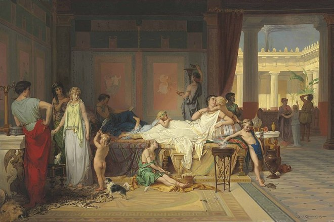 Coomans, Joseph (1816 - 1889) Last Hour of Pompeii (1869)