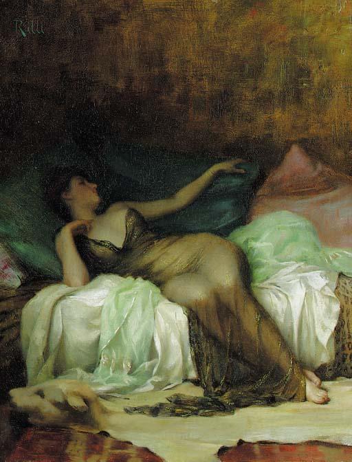 Ralli, Theodore Jacques (1852 - 1909) Odalisque