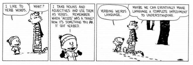 Verbing Words