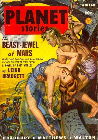 Brackett 12 PS 1948 WN Beast-Jewel of Mars