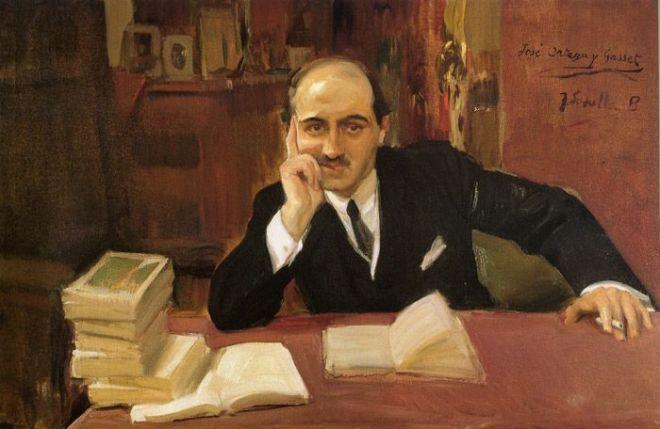 Joaquin Sorolla (1863 - 1923) - Portrait of Jose Ortega y Gasset
