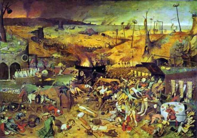 Peter Bruegel the Elder (1525 - 1569) - Triumph of Death (1562)