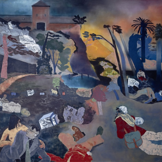 R. B. Kitaj (1932 - 2007) - If Not, Not (1976)