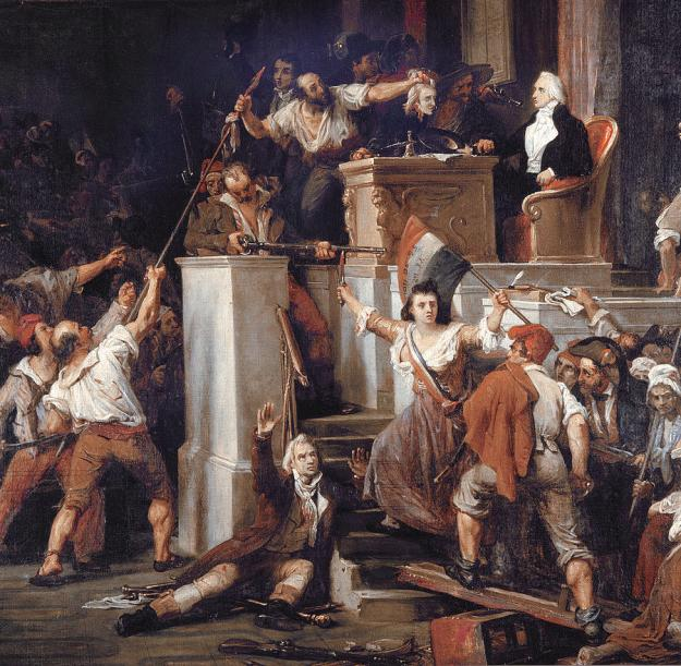 Auguste Vinchon (1789 - 1855) French Revolution (1855)