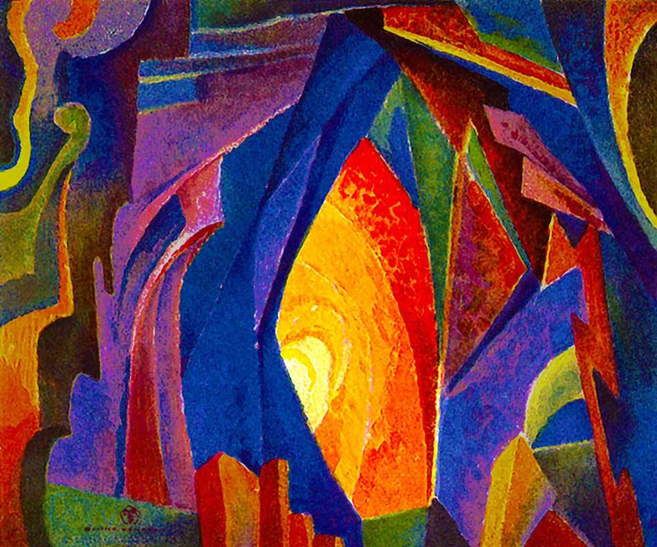 Joseph Anton Schneiderfranken (1876 - 1943) Labyrinth